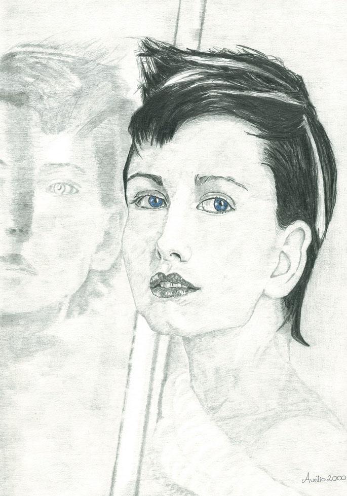 Donna allo specchio - JungleKey.it Immagini